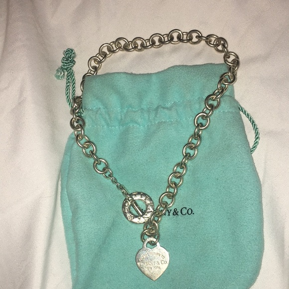 d93524f98 Tiffany & Co. Jewelry | Return To Tiffany Heart Tag Toggle Necklace ...